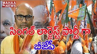 BJP Stands As Largest Party In Nizamabad : Muncipal Poll |MAHAA NEWS