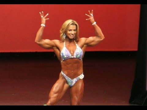 Fabiola Boulanger Female Bodybuilder NY Pro 2014 Women's Physique 3rd Place