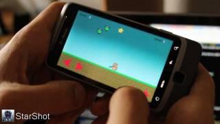 """""""StarShot"""" Make Mobile Indie Game"""