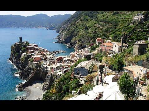 The Scenic Italian Riviera and Picturesque Cinque Terre Villages.