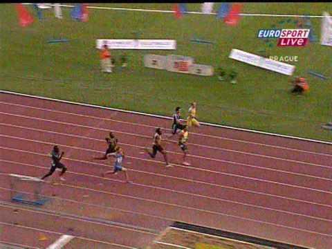 Matic Osovnikar Prague 100m