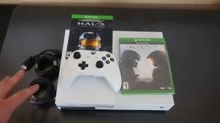 Xbox One S 500GB Unboxing | Halo 5 & Halo Master Chief Collection