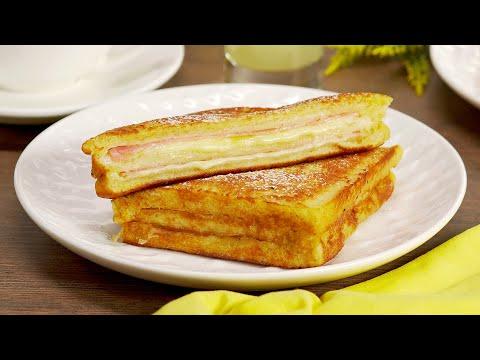 """Знаменитый сэндвич """"Монте-Кристо"""". Незабываемое кулинарное приключение. Рецепт от Всегда Вкусно!"""