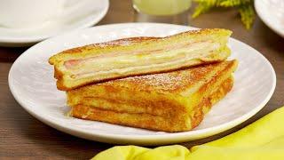 Знаменитый сэндвич Монте-Кристо. Незабываемое кулинарное приключение. Рецепт от Всегда Вкусно!