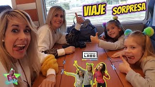 VIAJE SORPRESA a Madrid en Familia!! Probamos Nintendo Labo | Daniela Go
