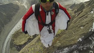 Solo Ascent of Aiguille de la République & First Wingsuit Jump, Chamonix Mont Blanc