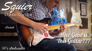 Squier Classic Vibe 50's Stratocaster