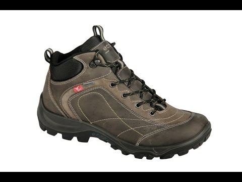 c53a526027ee38 Ecco Xpedition 2 Schuhe in grau Yak Leder Boots Gore-Tex (152-20-0002)