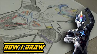 Ultraman Exceed X -How I Draw