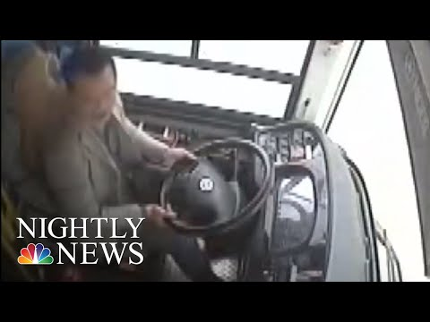 Woman Attacked Driver Before Bus Plunged Off Chinese Bridge, Killing 15 | NBC Nightly News