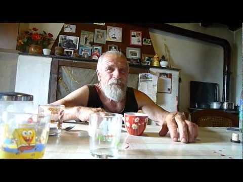 Carlo Rota  contadino in Valle Imagna