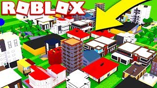 ROBLOX CITY SIMULATOR! *BUILDING WORLD'S MOST EXPENSIVE CITY*