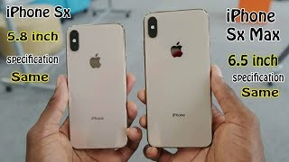 iphone SX & iphone SX Max Full Review & Camera Text & Performing Test