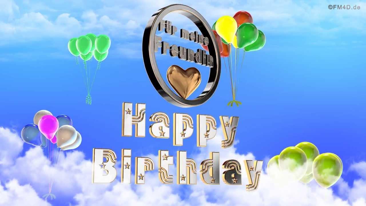 Happy Birthday Spruch Freundin ~ Geburtstagslied f�r meine freundin happy birthday to you lustiges geburtstags video youtube