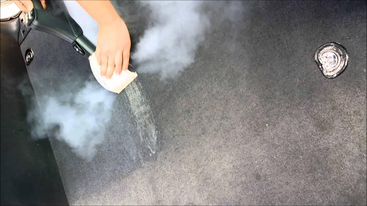 4fe88797604355 Renovap Nettoyage à Vapeur Automobile (Shampoing moquette) - YouTube