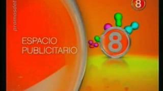 """Bumper """"Espacio Publicitario"""" de Canal 8 San Juan - 2011"""