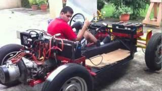 vehiculo electrico casero (0)  hecho en Costa Rica