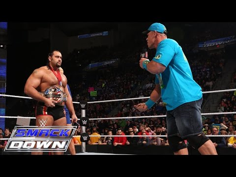 John Cena comes face-to-face with Rusev: SmackDown, January 29, 2015