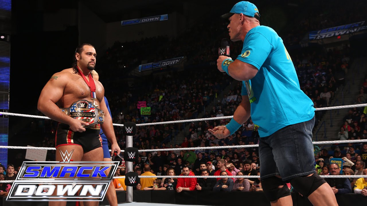 John Cena Comes Face-to-face With Rusev: SmackDown