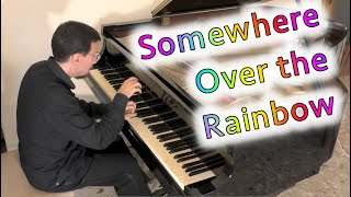 Somewhere over the rainbow (Jazz piano solo) dedicato a Maria Cristina