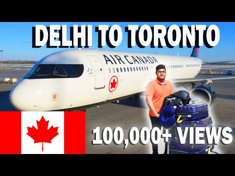 DELHI to TORONTO | International Student | CANADA