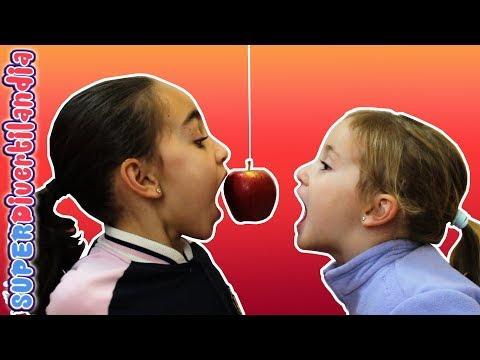 Tartas y Mordiendo Manzanas! Andrea, Irene y Raquel en SUPERDivertilandia.