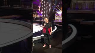 Kodi Lee at America's Got Talent Stage!