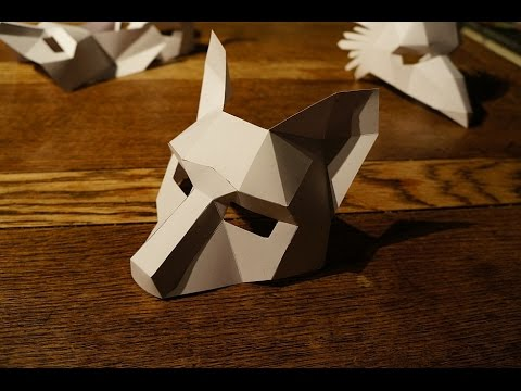 How to build a Wintercroft Mask
