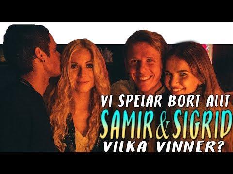 VI SPELAR BORT ALLT MED SAMIR & SIGRID