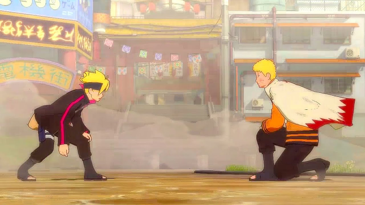 Kumpulan Gambar Sketsa Anime Boruto