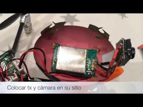 Walkera Ladybird FPV version Willy Mod - YouTube