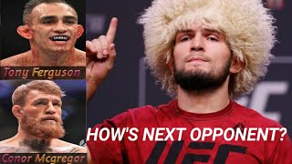 Khabib NEXT fight 2019?|Tony Ferguson or Conor Mcgregor