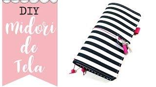 DIY - Midori traveler's Notebook o fabricdori  - Iniciativa #diarioscrapviajero