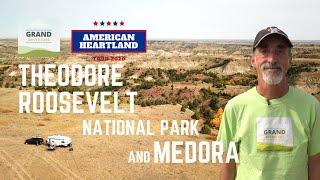 Ep. 174: Theodore Roosęvelt National Park & Medora | RV travel North Dakota camping