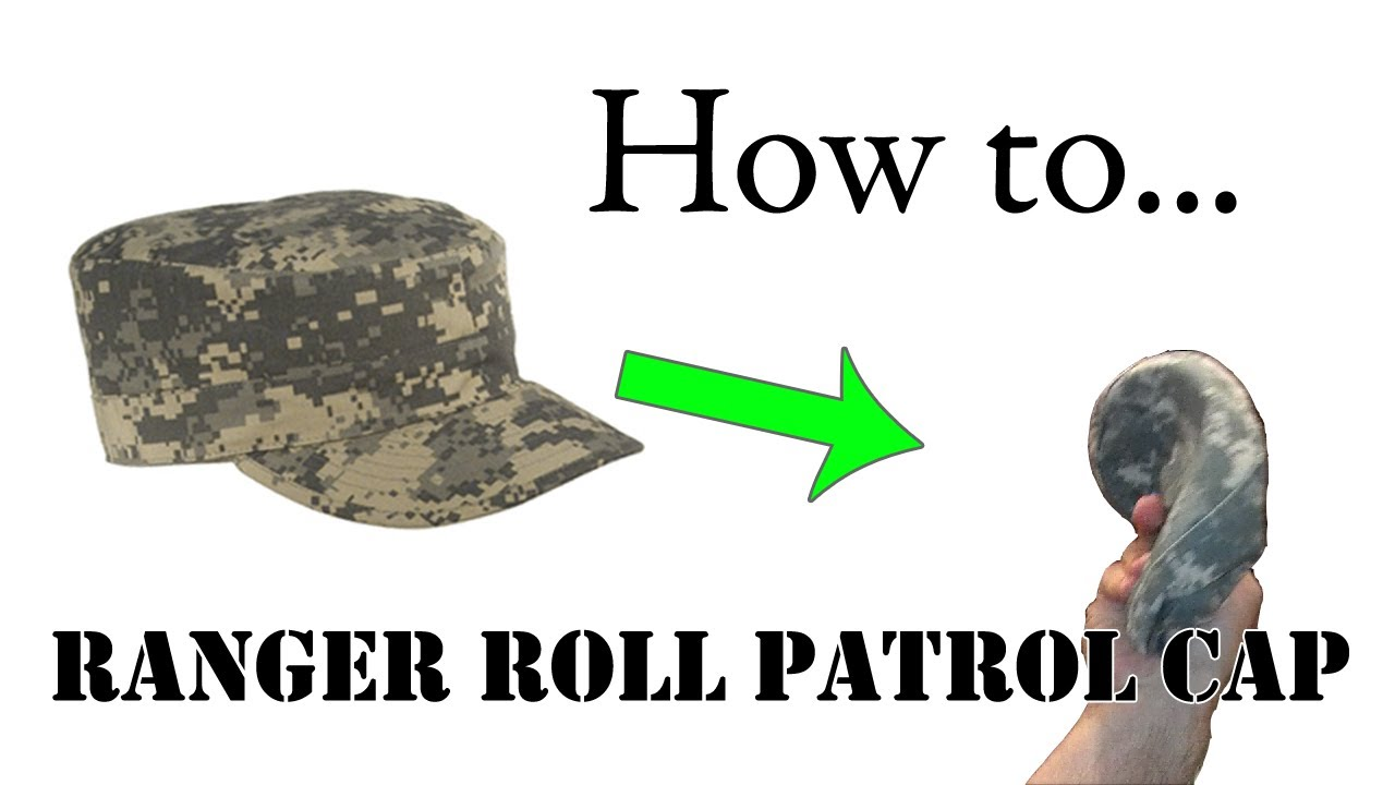 How to Ranger Roll Your ACU Patrol Cap