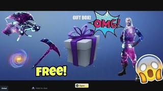 I logged into my fortnite account and got this gift for free...