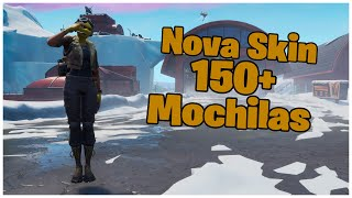 SHOWING THE * NEW * SKIN CELERITY & 150 + BACKPACKS | FORTNITE