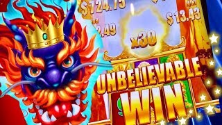 ★5 DRAGONS GRAND BONUS★SUPER BIG WIN! ITS AMAZING!! ★CASINO GAMBLING!★FOUR WINDS CASINO!