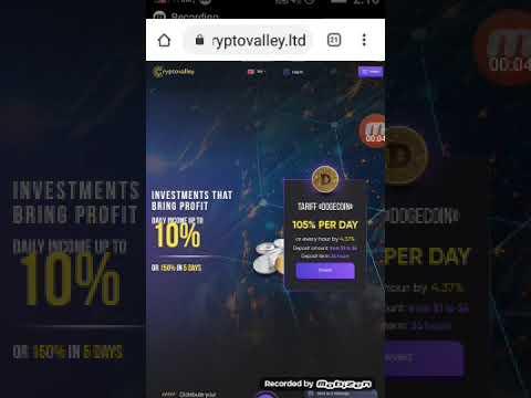 إثبات الدفع من أفضل موقع إستثماري cryptovalley