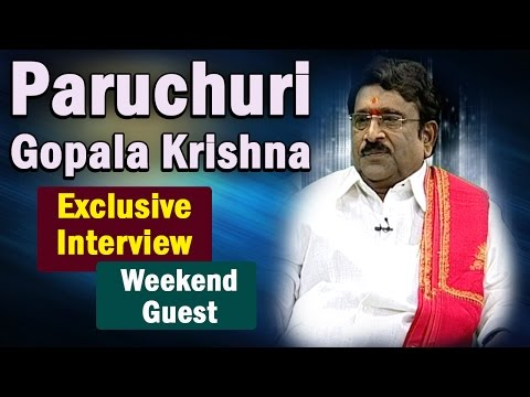 Gopalakrishna Paruchuri Exclusive Interview || Weekend Guest || NTV