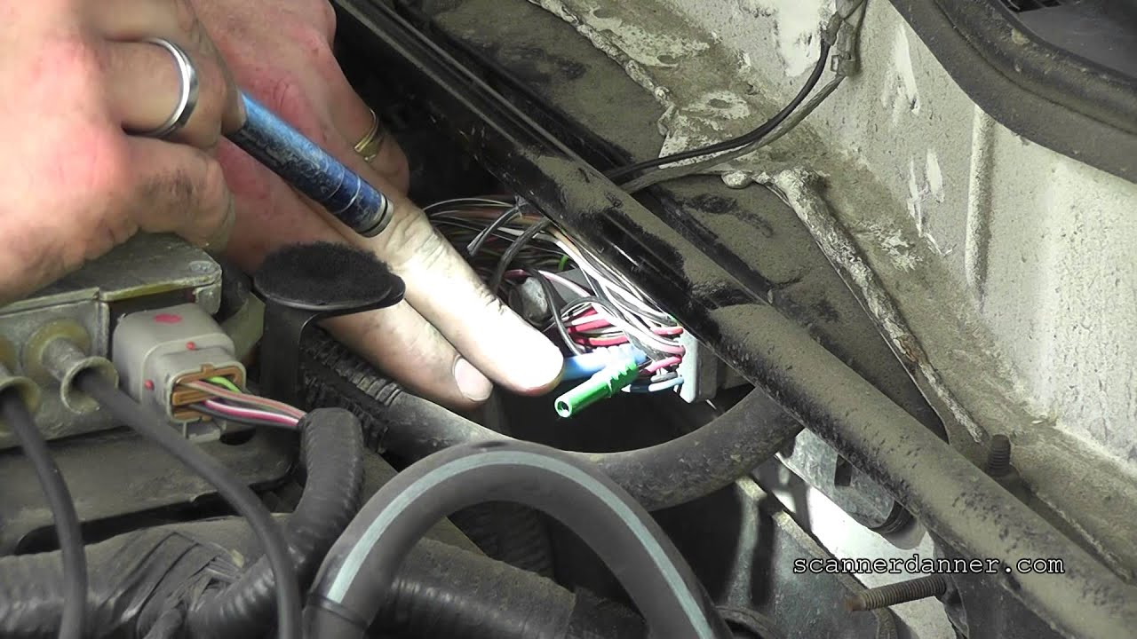 1996 Jeep Cherokee Sport Fuse Box No Start No Spark No Injector Pulse Faulty Crank Sensor