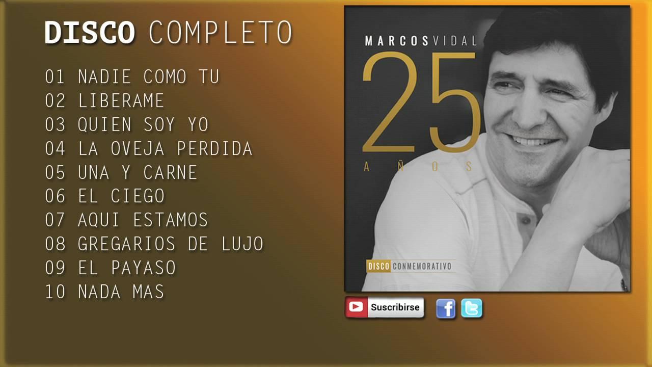 Crítica 25 Años Conmemorativo Marcos Vidal By Diego Coloma Martínez Medium