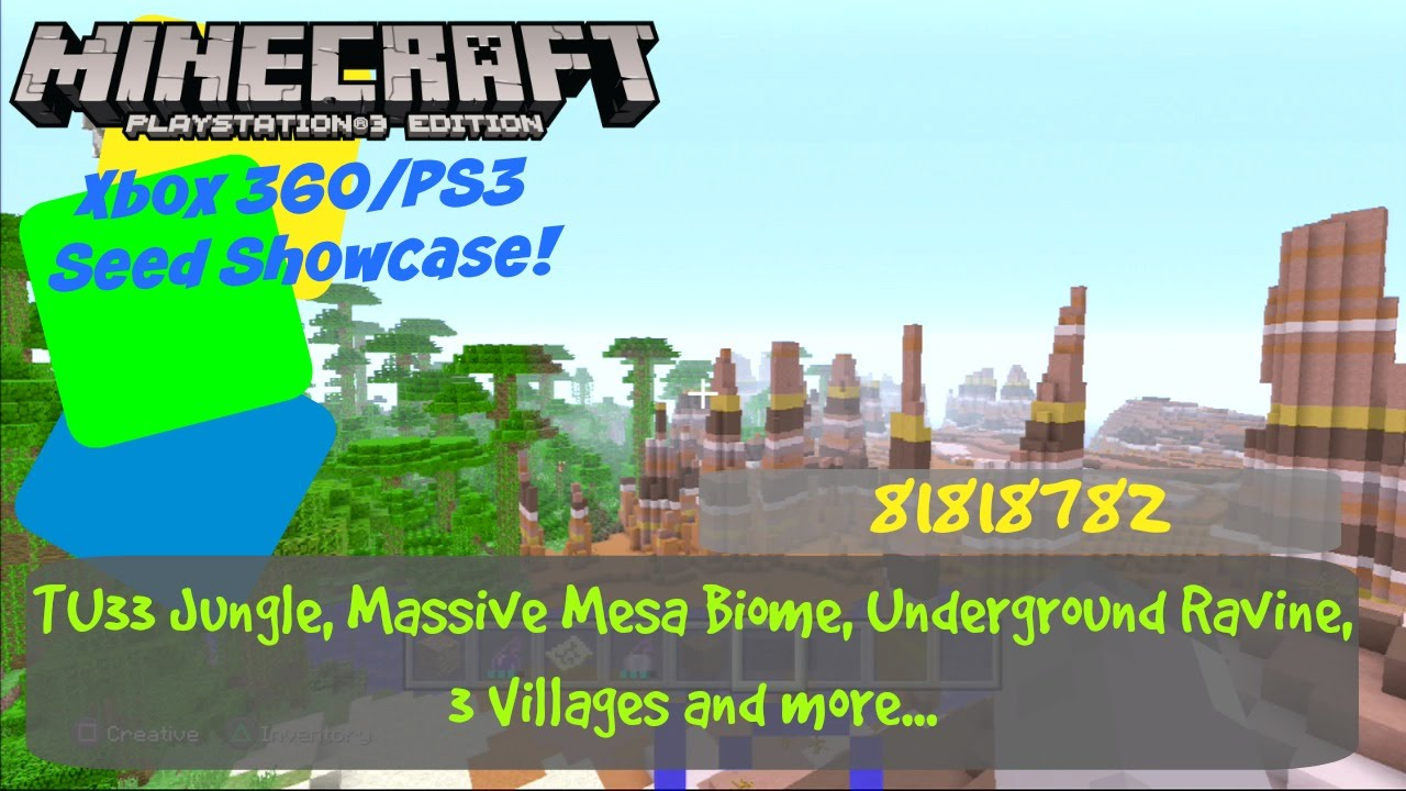 Minecraft ps3 flachland seed