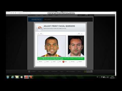 Как сделать своё лицо в FIFA.