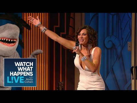 Luann De Lesseps Performs In The LA Clubhouse  RHONY  WWHL