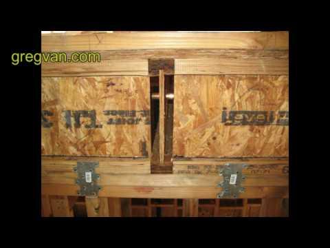 Floor Joist Block Tips House Framing And Building Advice Youtube