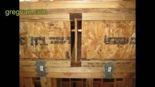 Floor Joist Block Tips - House Framing And Building Advice