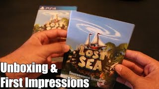 Limited Run Games: Lost Sea (PS4) - Unboxing & First Impressions!