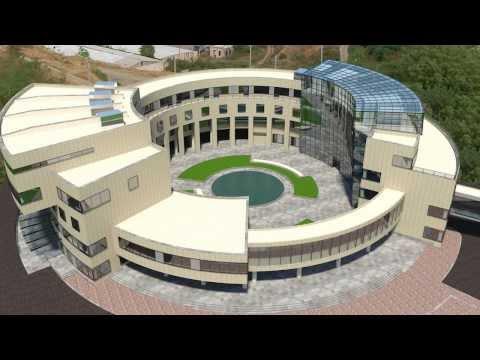 Открытие больницы в Степанакерте построенной Ташир