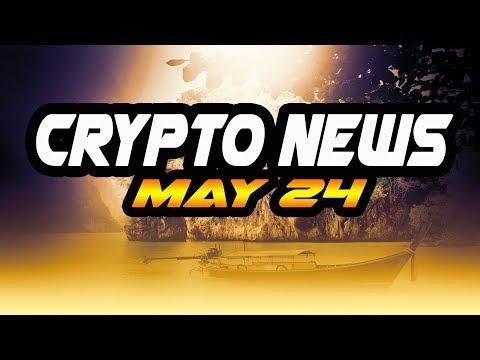 Crypto News May 24 - $XRP $XMR $ICX $BTG $JNT Market Manipulation Zimbabwe GMO IBM circle coinbase